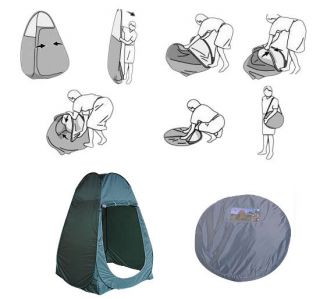 Outdoor Pop Up Tent Portable Changing Tent Camping Toilet Room Privacy Shelter