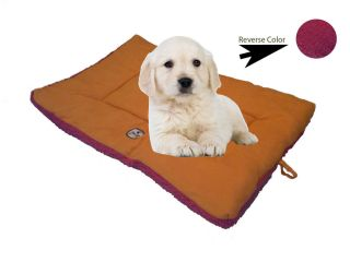 Reversible Pet Bed Pillow Crate Pad Mat