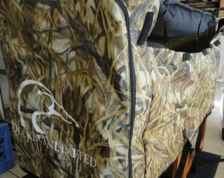 Dog Kennel Cover Advantage Wetlands Ducks Unlimited Camouflage 32 x 23 x 23 Med