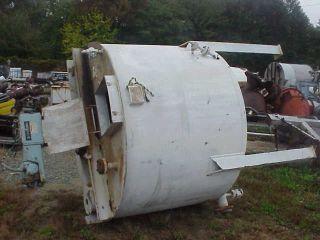 1000 1150 Gallon Stainless Steel Mix Agitator Tank in NJ