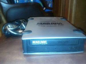 Megastor USB 2 0 Mad Dog Multimedia CD DVD RW External Drive DVD R RW DVD R DL