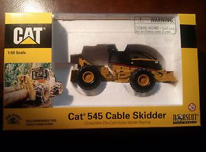 Caterpillar Cat 545 Cable Skidder 1 50 Scale Diecast