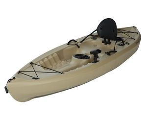 Lifetime 10 Foot Plastic Tamarack 120 Sport Fishing Kayak Canoe Model 90237