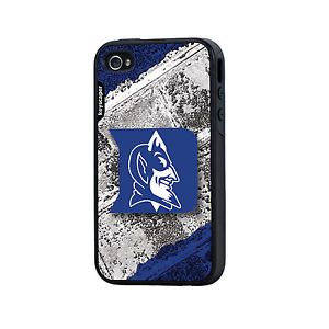 """Duke Blue Devils iPhone 4 4S """"Upgrade"""" Rugged Cell Phone Case Two Piece"""