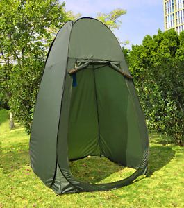 Portable Changing Tent Camping Toilet Pop Up Room Privacy Shelter Outdoor Green