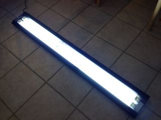 "60"" Aquarium Lamp Light Fixture Coral Reef Marine Fish Tank Lighting Compact New"