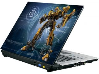 Laptop Notebook Skin Sticker Cover Decal Bumblebee Autobot Transformer 15 4 Inch