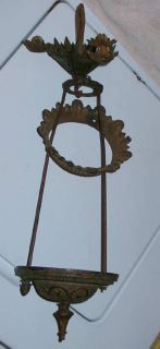 B H Cast Iron Oil Hanging Pulley Hall Lamp Light Frame