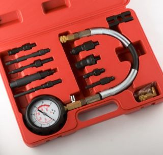 Diesel Engine Cylinder Compression Tester Professional Kit Direct Indirect Truck