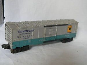 O Scale Lionel Baltimore Ohio 6464325 Sentinel Freight Car
