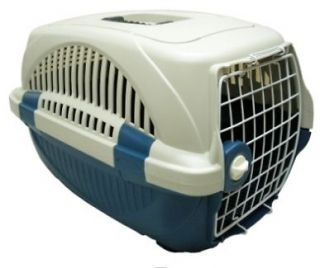 Blue Pet Carrier for Your Cat Small Dog Guinea Pig Rabbits and Even Other Pet