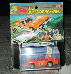 Ideal TCR 1980 Dukes of Hazzard General Lee Slot Car Dodge Charger NIP
