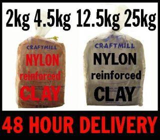 Bulk Packs Reinforced Air Drying Clay Pottery Sculpting Modelling Kids Handprint