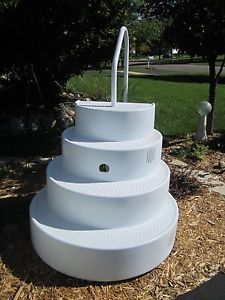 Wedding Cake Pool Steps For Inground Pool Lumi O