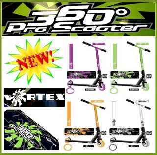 Vortex 360 Pro Stunt Scooter Street Push Trick Scooter Kids Childrens Xmas Gift