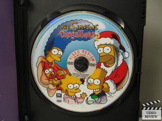 The Simpsons Christmas Dvd.The Simpsons Christmas 2 Dvd 2004 024543140689