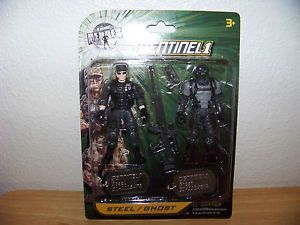 True Heroes Sentinel 1 Steel Ghost Action Figures NIP