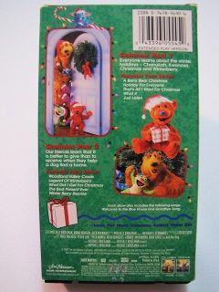 bear in the big blue house a berry bear christmas vhs video - Bear Inthe Big Blue House A Berry Bear Christmas