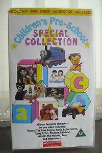 Childrens Pre School Special Collection VHS Video Sooty Playbox Thomas The Tank