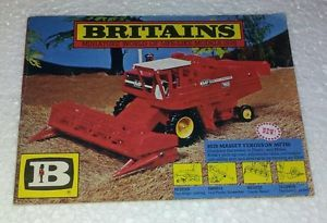 Britains Vintage 1978 Toy Catalogue Farm Soldiers Diecast Tractors Animals
