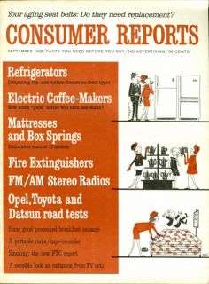 Consumer Guide Coffee Maker : consumer reports frigidaire refrigerator on PopScreen