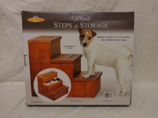 Wood Pet Steps