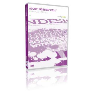 Training Video Tutorial DVD ROM for Adobe InDesign CS3