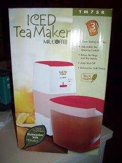 Mr Coffee TM75R Iced Tea Maker
