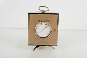 "1950s Vintage Zenith ""Royal"" Golden Triangle Transistor Clock Radio with Box"