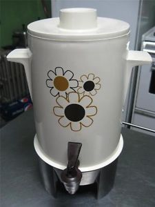 Vintage Regal Automatic Electric Poly Perk Coffee Maker Percolator Coffee Urn