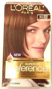 Loreal Paris Superior Preference Hair Color Hair Dye 5g Medium Golden Brown