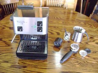 Starbucks Barista Espresso Coffee Machine Excellent Plus Lots Accessories