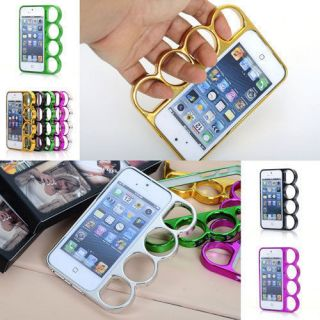 Lord of The Rings Brass Knuckles Hard Bumper Side Rim Cover Case for iPhone 5 5S