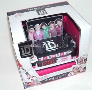 New One Direction 1D Digital Alarm Clock Radio