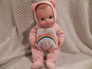 Cheer Care Bear Vintage Lauer Nice Water Baby Babies Doll