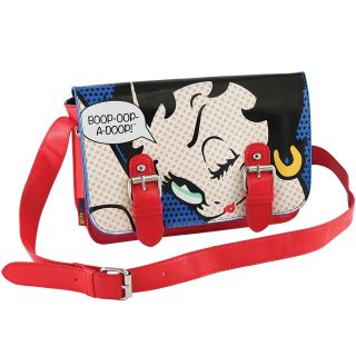 New Betty Boop Wink Shoulder Bag Boop A Doop Classic Cartoon Comic Satchel