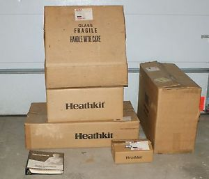 Super RARE Complete Heathkit GR 2501 Unbuilt Color Television TV Kit
