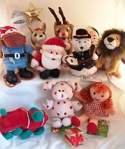 Rudolph CVS Island of Misfit Toys Lot of 10 with Tags