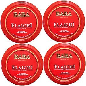 Qty 4 10 GM Fresh Baba Elaichi Silver Coated USA Best Price