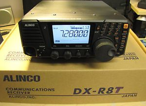 Alinco DX R8T Shortwave Communications Receiver SDR Ready