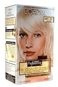 Loreal Hair Color lb 01 Extra Light Ash Blonde 1KIT