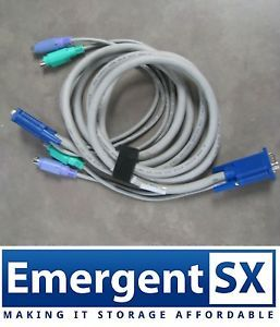 AWM Computer Cable CSA LL80671 E101344 Style 2919 KVM Switch Cable