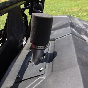 Polaris RZR 170 Complete Custom Intake Air Filter System Kit