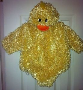 Babystyle Soft Plush Baby Chick Infant Boy Girl Halloween Costume Sz 3 6