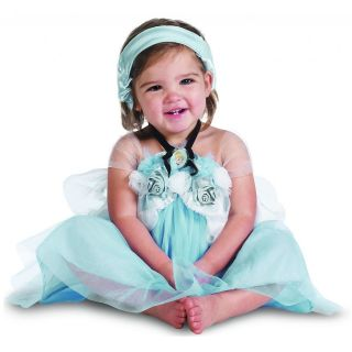Cinderella Costume Baby Disney Dress Up Halloween Fancy Dress