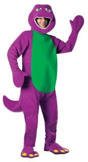 Barney Adult Costume Animal Purple Cartoon Unique Theme Party Unisex Halloween