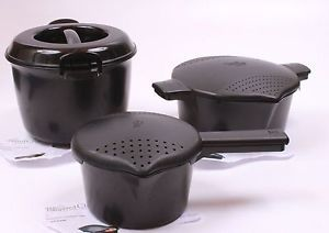 The Pampered Chef Microwave Micro Cookers and Rice Steamer