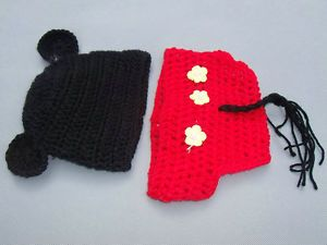 4d6d02fa2dd 5 Crochet Knitted Baby Boy Hat Girl Diaper Photo Prop Costume Kid Girl Boy  Hats