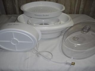 Rival Automatic Elec Rice Cooker Food Steamer New in Box