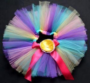 Purple Party Costume Ballet Dancing Girl Toddler Child Baby Tutu Skirt 12 24 M